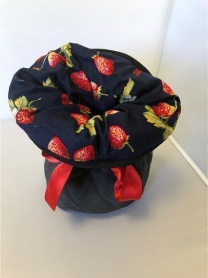 Homeopathic Travel Bags Black Strawberries