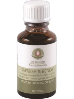Oil Garden Blend Refresh and Renew Concentrate 25ml Aromatherapy Oil